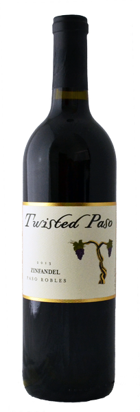 2014 Twisted Paso Zinfandel